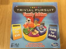 Trivial Pursuit Family Edition Board Game - NEW & SEALED