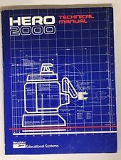 Heathkit Zenith Hero 2000-Robot Technical Manual ET-19-with Illustration Booklet