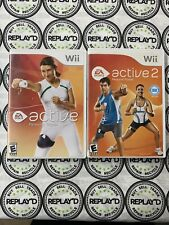 GREAT DEAL! EA Sports Active 1 And 2 Personal Trainer Wii Fitness(Videogames)