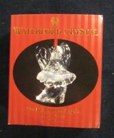 Waterford Irish Crystal Christmas Ornament Millennium Angels Fellowship 3rd Ed