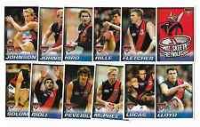 2005 Herald Sun ESSENDON Team Set (12)