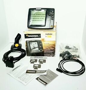 Hummingbird 550 fish finder with transducer +++++