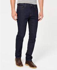 Tommy Hilfiger Men's Big & Tall Straight Fit Stretch Jeans Rinse Wash Size 46x30