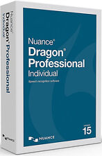 Nuance Dragon Professional Individual 15 - Full Retail (box)