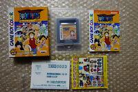 "One Piece Grand Line ""Good Condition"" Nintendo Gameboy Color Japan"