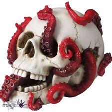 Nemesis Now dévoré Crâne Tentacule Pieuvre Deep Gothique Home Cadeau Decor Figurine