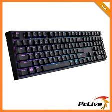 NEW Cooler Master Masterkeys Pro L RGB Mechanical Gaming Keyboard Cherry MX Red