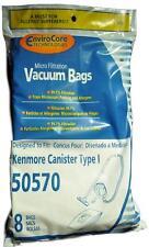 Kenmore 50570 Type I Microfiltration Tank Vacuum Cleaner Bags # 202