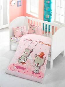 Baby Crib Nursery Bedding Set   Sheet, Duvet Cover, Pillow Cases   Boys & Girls