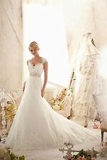 Mori Lee Wedding Dress 2616 Brand New Size 14 Ivory