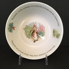 Wedgwood England Bowl Peter Rabbit & Benjamin Bunny Collection Fred Warne & Co.