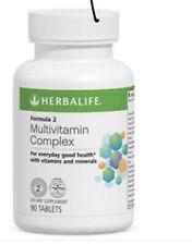 HERBALIFE FORMULA 2 MULTIVITAMIN COMPLEX ORIGINAL 90 TABLETS - Fast shipping