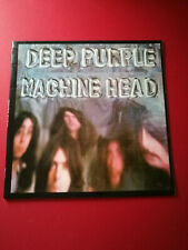 Deep Purple Machine Head NM vinyl A1U + LYRIC INSERT 7204 G&L cover + Co inner
