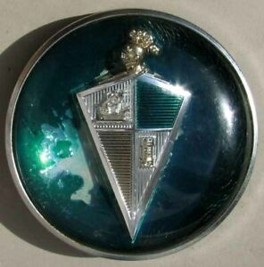 RARE ORIGINAL 1954-1955 HUDSON HORNET HORN BUTTON NICE L@@K #G702