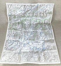 More details for 1934 antique map of switzerland visp swiss canton valais zermatt sion brig