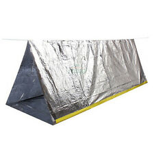 """2 Person Emergency Survival Mylar Shelter Tent- 8'x5' (61"""" x 95"""") - Waterproof"""