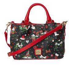 Disney Dooney & Bourke Christmas Woodland Winter Holiday Crossbody Shoulder Bag