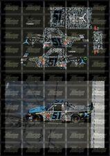 NASCAR 1/24 DECALS - 2013 CWTS #51 DENNY HAMLIN AIR JORDAN TOYOTA TUNDRA