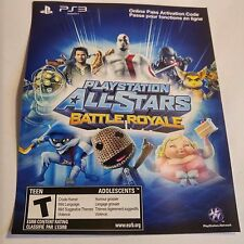 (DLC ADD-ON ONLY) ONLINE PASS All-Stars Battle Royale  (SONY PS3) #2095