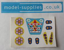 Corgi 807 magic roundabout douglas voiture ensemble de reproduction stickers 10 objets