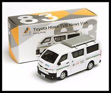 TINY HONG KONG CITY 83 Toyota Hiace TVB News Van DIECAST CAR