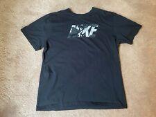 Men's XXL Nike Shirt Black Camo Letters