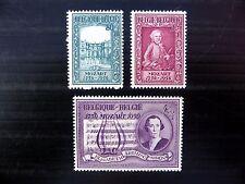 BELGIUM 1956 Mozart SG1575/7 U/M FP8897
