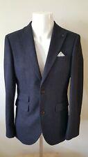 "Men's navy slim fit suit jacket blazer 38"" from Next"