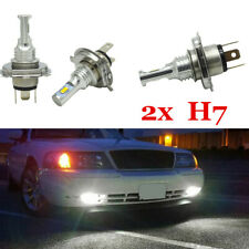 2pcs CREE H7 LED Headlight Kit Light Bulbs Hi/Lo Beam 6000K 35W 4000LM White