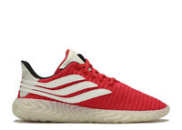 Mens Adidas Sobakov Trainers Gym Running Lightweight Red Clear BD7572