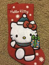 Kurt Adler Hello Kitty Christmas Stocking