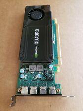 NEW Nvidia Quadro K1200 Video Graphic Card 4GB GDDR5 - PCI Express 2.0 W/ extra.