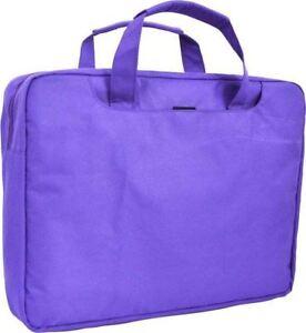 "15.6"" 15"" 14"" Inch Laptop / Notebook Bag - Purple - New"