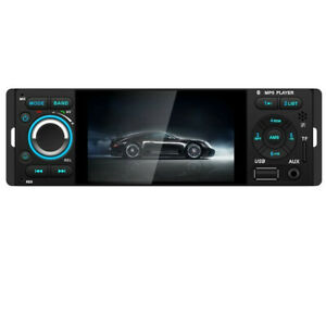 Car Radio 1DIN 4.1in Touch Screen Audio Stereo BT RCA TF USB AUX-IN MP5 Player