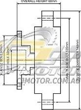 DAYCO Fanclutch FOR Nissan V30E Brougham Jun 1986 - Jan 1988 3.0L VG30DE