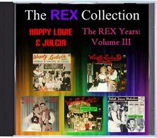 MZ 104 - Happy Louie - The Rex Years Volume III - POLKA CD