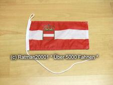 Fahnen Flagge Österreich Ungarn 1786-1918 Marine u.Kriegsflagge Tischwimpel - 1