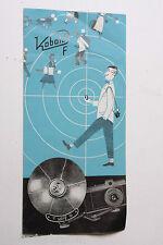 Kobold F Folding Flash Brochure Advertisement Pamphlet - English - USED B55