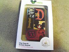 Authentic Disneyland Disney  Mickey Tech iPhone Case Cover 4 4S Patchwork Retro