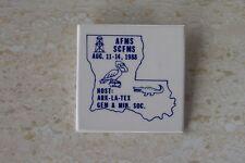 Vntg Louisiana AFMS/SCFMS 1988 National Gem, Mineral & Fossil Show Pinback Btn