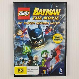 LEGO Batman The Movie DC Super Heroes Unite DVD - Region 4 - TRACKED POST
