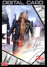 2X 2020 SIGNATURE SERIES WAVE 2 SILVER EDGE TOPPS WWE Slam Digital