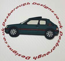 Peugeot 205 gti fridge magnets , Sorrento Green