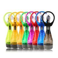 2X(Portable Handhold Water Mist Fan 2In1 Functions Powerful Fan Mini Outdo A1N4