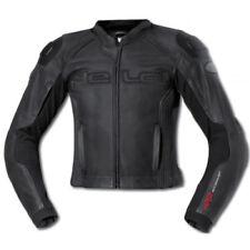 Tute in pelle e altri tessuti due pezzi neri per motociclista taglia 56