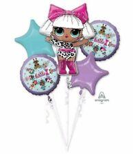 New Lol Surprise! Birthday Party Favor Supplies 5Ct Foil Balloons Bouquet