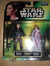 STAR WARS PRINCESS LEIA COLLECTION, CARDED FIGURES 1997