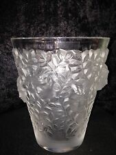 Lalique Silenes Vase Limited Edition Number #013 MINT New with Box & Paper