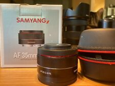 Samyang (Rokinon) AF 35mm F/2.8 FE Lens for Sony E-mount Full-frame Lens Camera