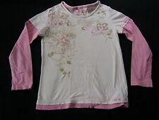 NEXT ♦ Mädchenshirt Bluse Tunika Lagenoptik ♦ 7 Jahre ♦ Gr. 122